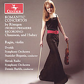 Romantic Concertos - R&#246;ntgen, Chausson, Hubay / Wenk-Wolff
