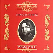 Prima Voce - Nina Koshetz