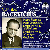 Bacevicius: Po&egrave;me Electrique, Piano Concerto, etc / Lukocius