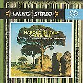 Berlioz: Harold in Italy, Overtures / Munch, Primrose, BSO