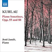 Kuhlau: Piano Sonatinas Op 55 & 88 / Jeno Jand&oacute;