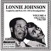 Lonnie Johnson: Complete Recorded Works (1925-1932), Vol. 4: 1928-1929