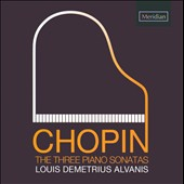 Chopin: Three Piano Sonatas / Alvanis