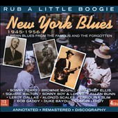 Various Artists: New York Blues 1945-1956: Rub a Little Boogie [Box]