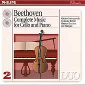 Beethoven: Complete Music for Cello & Piano / Rostropovich