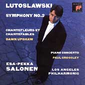 Lutoslawski: Symphony no 2, etc / Salonen, Los Angeles PO