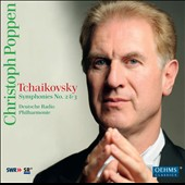 Tchaikovsky: Symphonies No. 2 & 3 / Christoph Poppen