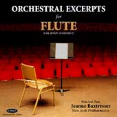 Orchestral Excerpts for Flute / Jeanne Baxtresser