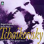 Tchaikovsky: Complete Songs Vol 1 / Leiferkus, Skigin