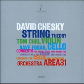 David Chesky: String Theory - Concerto for Violin, Cello & Orchestra / Eggar, Chiu