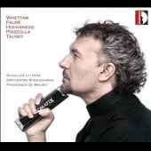 Arrangements & pieces for harmonica & orchestra by Whettam, Fauré, Hovhannes, Piazzolla, Tausky / Gianluca Littera, harmonica
