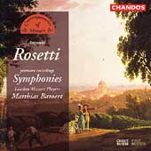 Rosetti: Symphonies / Bamert, London Mozart Players