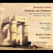 Alessandro Scarlatti: Arias & Duets from the opera L'Emireno (Naples, 1697) / Alice Barciani, soprano; Alex Potter, countertenor