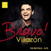 Bravo! Villazon: The Recitals - CD 1: Italian Arias; CD 2: Massenet & Gounod; CD 3: Opera recital; CD 4: Zarzuela Arias / Rolando Villazon, tenor [4 CDs]