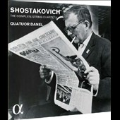 Shostakovich: The Complete String Quartets (15) / Quatuor Danel [5 CDs]