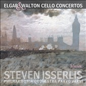 Edward Elgar (1857-1934) & William Walton (1902-1983): Cello Concertos; Gustav Holst (1874-1934): Invocation; Imogen Holst (1907-1984): Fall of the Leaf / Steven Isserlis, cello; Philharmonia Orch., Paavo Järvi