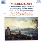 Mendelssohn: Midsummer Night's Dream, etc /Bramall, Dohnányi