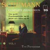 Schumann: Complete Piano Trios Vol 1 / Trio Parnassus