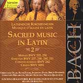 Edition Bachakademie Vol 72 - Sacred Music in Latin 2