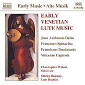 Early Venetian Lute Music - Dalza, et al / Wilson, Ramsey