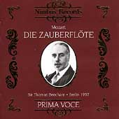 Prima Voce - Mozart: Die Zauberfl&ouml;te / Beecham, Strienz