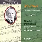 The Romantic Piano Concerto Vol 3 - Medtner / Demidenko