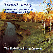 Tchaikovsky: String Quartets, etc / Endellion String Quartet