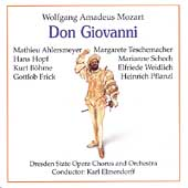 Paperback Opera - Mozart: Don Giovanni / Elmendorff, B&#246;hme