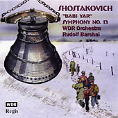 Shostakovich: Symphony no 13 