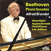 Beethoven: Piano Sonatas - Moonlight, Appasionata, etc / Alfred Brendel