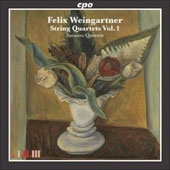 Weingartner: String Quartets Vol 1 / Sarastro Quartet