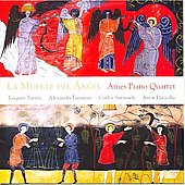 Piazzolla: La Muerte del Angel;  Turina, Tansman, Surinach: Quartets / Ames Piano Quartet