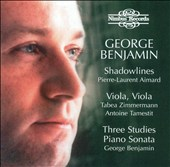 George Benjamin: Shadowlines; Viola, Viola; Three Studies; Piano Sonata