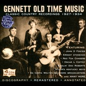 Various Artists: Gennett Old Time Music: Classic Country Recordings 1927-1934 [Box]