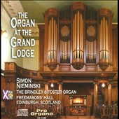 The Organ at the Grand Lodge / Nieminski