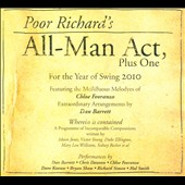 Chloe Feoranzo: Poor Richard's All: Man Act, Plus One [Digipak]