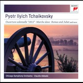 Tchaikovsky: '1812' Overture; Marche slave; Romeo and Juliet, The Tempest / Chicago SO, Abbado
