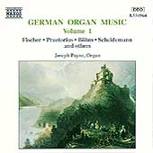 German Organ Music Vol 1 / Joseph Payne