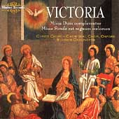 Victoria: Missa Dum complerentur, etc / Stephen Darlington