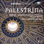 Palestrina: Masses; Lamentations of Jeremiah; Stabat Mater / Pro Cantione Antiqua [5 CDs]