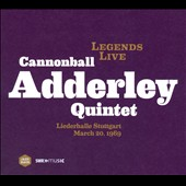 Cannonball Adderley Quintet: Legends Live: Stuttgart 1969 [Digipak]