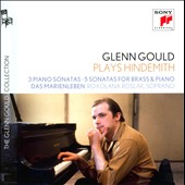 Hindemith: 3 Piano Sonatas; 5 Sonatas for Brass & Piano; Das Marienleben / Glenn Gould, piano