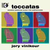 Toccatas: Modern American Music for Harpsichord by Powell, Cowell, Rorem, Adler, Muczynski, Morehead, Meltzer / Jory Vinikour, harpsichord [Blu-ray audio]