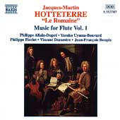 Hotteterre: Music for Flute Vol 1 / Allain-Dupré, et al