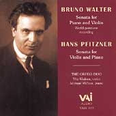 Walter, Pfitzner: Sonatas for Violin and Piano / Orfeo Duo