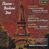 Tailleferre: Concerto Grosso;  Poulenc, Snyder / Poindefert