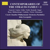 Contemporaries of the Strauss Family, Vol. 2: Marches & Waltzes of Ivanovici, Lincke, Zeller, Fucík et al. / Czech Chamber PO Pardubice; Georgiadis