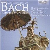Carl Philipp Emanuel Bach: Hamburg Symphonies, Wq 182 (6) and Wq 183 (4) / C.P.E. Bach Chamber Orchestra, Michael-Christfried Winkler, harpsichord