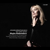 J.S. Bach: The Cello Suites; works by Gubaidulina, Kurtág, Penderecki, Schnittke & Britten / Mayke Rademakers, cello & electric cello
