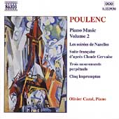 Poulenc: Piano Music Vol 2 / Olivier Cazal